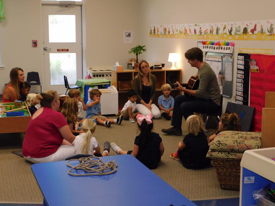 Music enrichment classes give students the opportunity to express themselves.